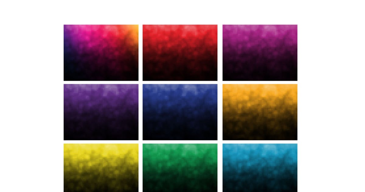 Download 11 Pixelated Backrounds by 1protheme