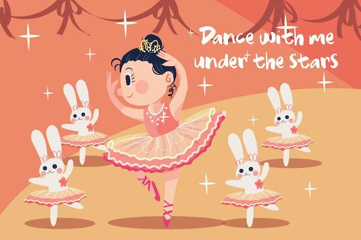 Thumbnail for Ballet - Vector Illustration