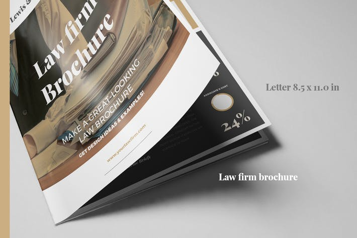 Law Firm BiFold brochure