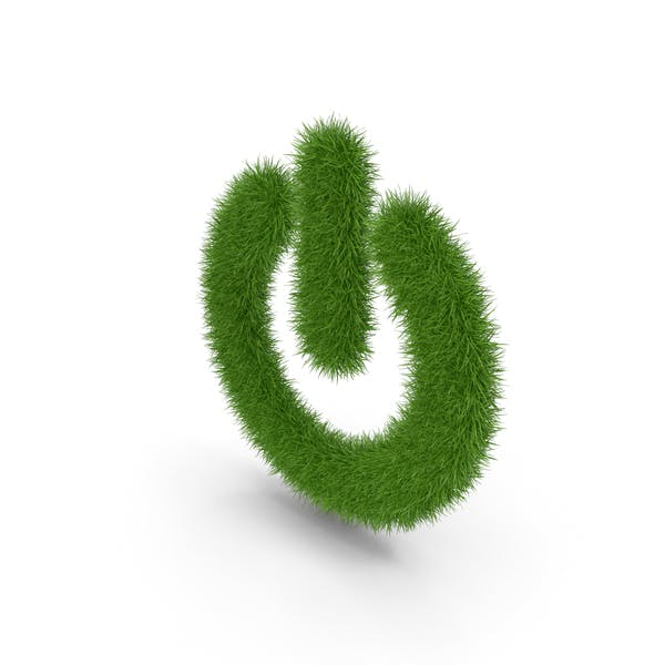 Grass ein Aus-Symbol
