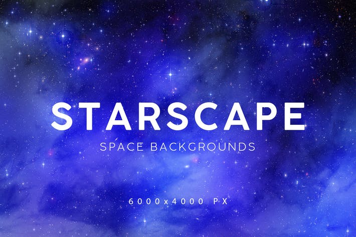 Thumbnail for Space Starscape Backgrounds