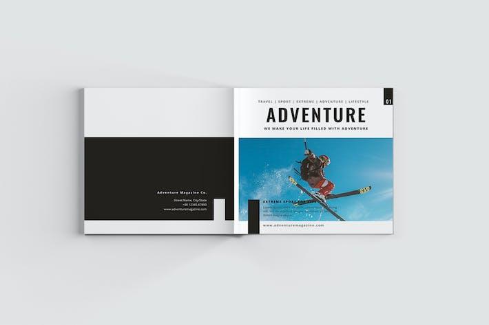 Cover Image For Adventure Sport Magazine
