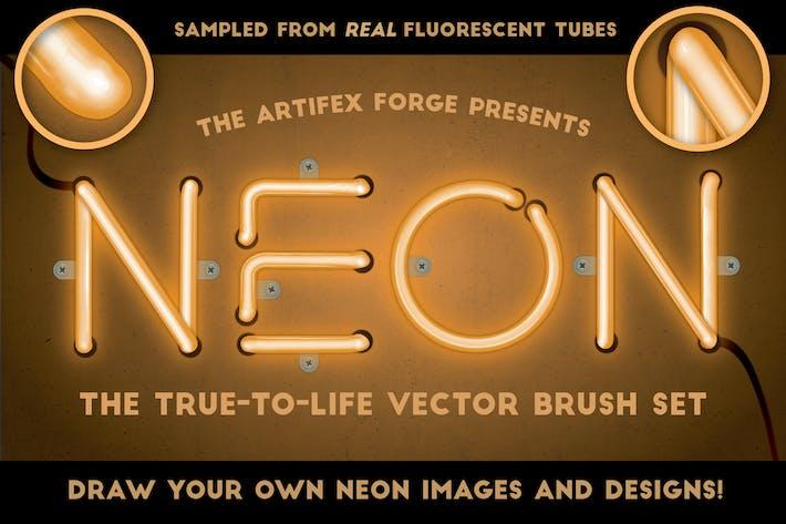 Thumbnail for Neon - Реалистичный набор кисти