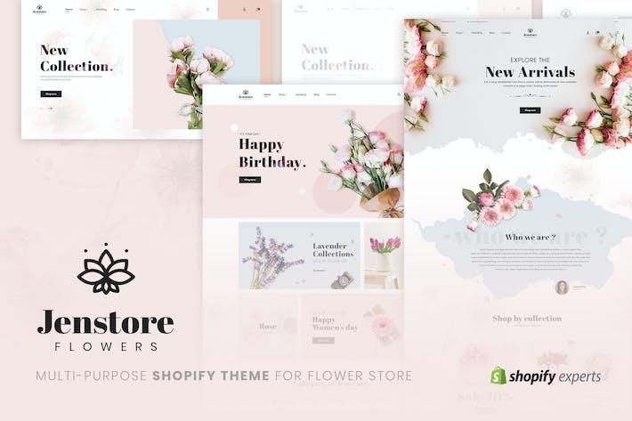 JenStore | Thème Multi-Usages Shopify pour Fleur
