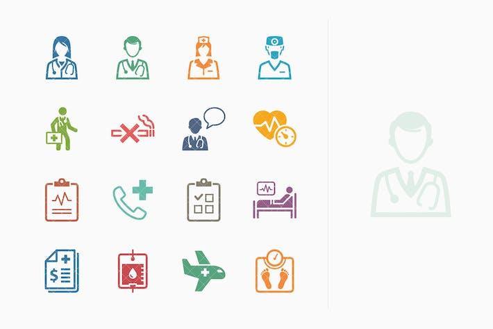 Thumbnail for Kit de Íconos de servicios Medicina 2 - Serie coloreada