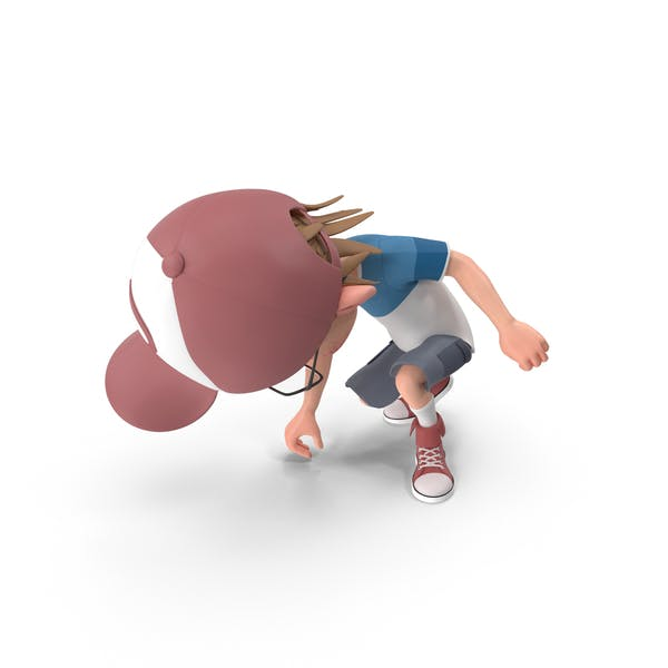 Cover Image for Cartoon Boy Picking Up