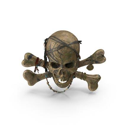Piratenschädel