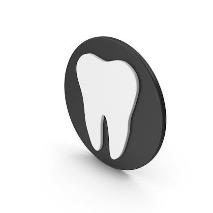 Base negra diente