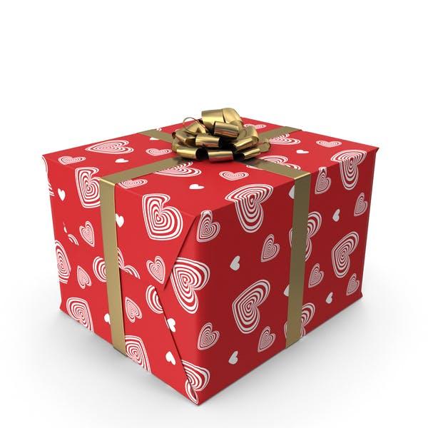 Подарочная коробка любви