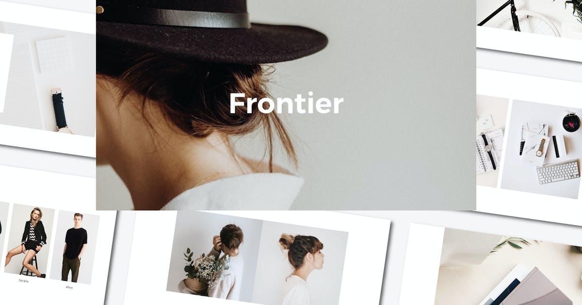 Download Frontier - Keynote Template by axelartstudio