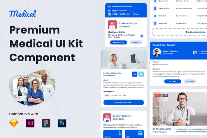 Thumbnail for Nuzie - Medical Ui Kits