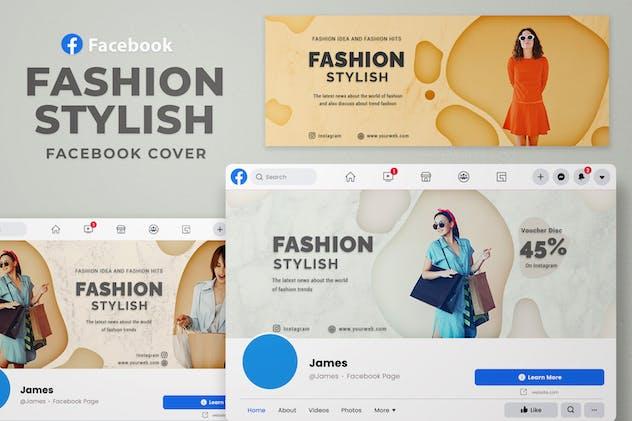 Facebook Cover - Fashion Stylish