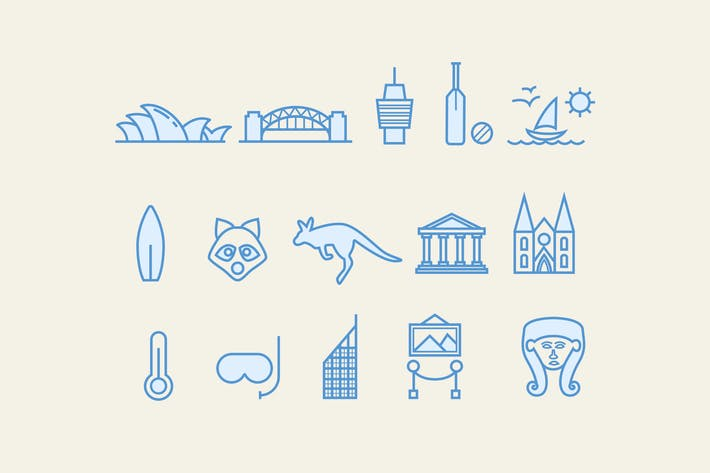 Cover Image For 15 Sydney-Icons