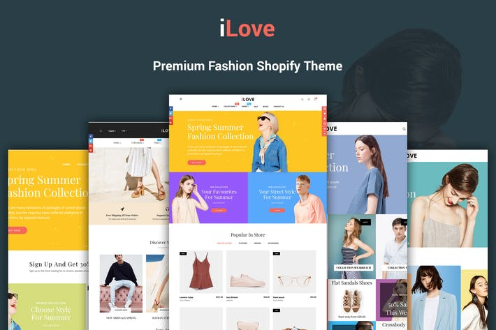 Thumbnail for iLove - Highly Creative Responsive Shopify Theme