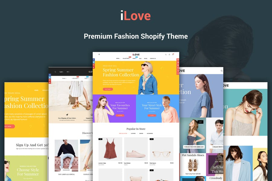 iLove - Highly Creative Responsive Shopify Theme