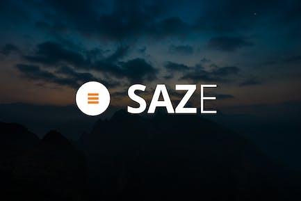 Saze - Responsive E-Mail Vorlage Kit