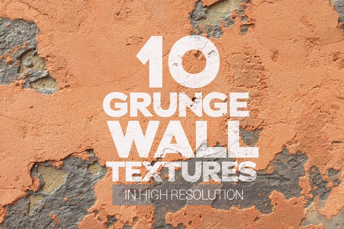 Thumbnail for Grunge Wall Textures x10