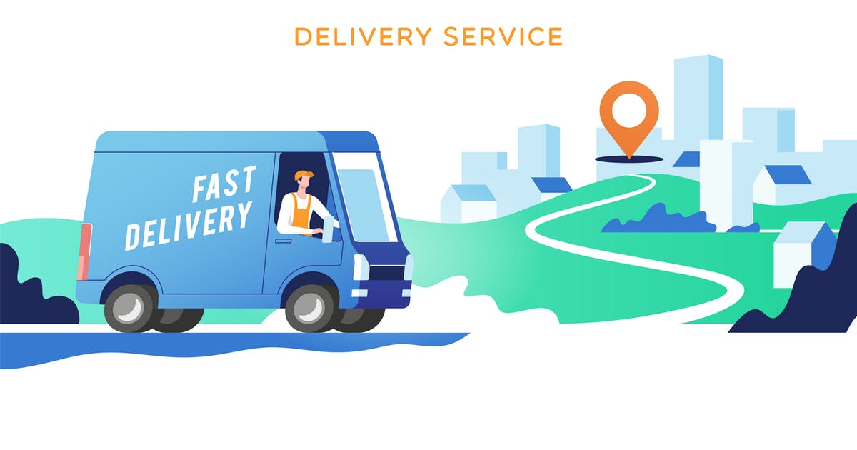 Download Delivery Service by Faber14