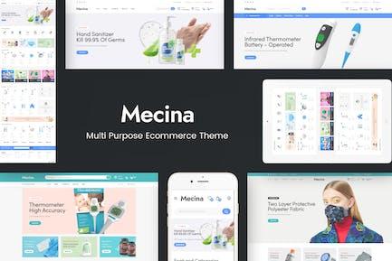 Mecina - Thème OpenCart Médicale et Santé