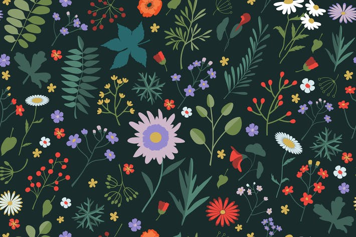 Thumbnail for Wild Flowers Pattern
