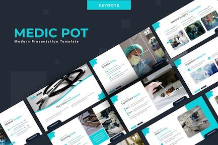 Medic Pot  - Keynote Template
