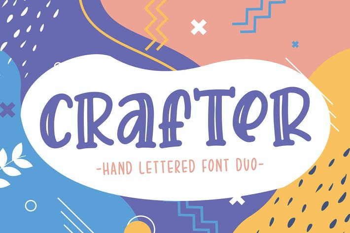Crafter Font Duo
