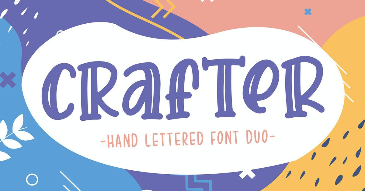 Download Crafter Font Duo by sigitdwipa