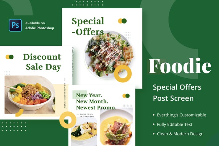 Cover Image For Foodie Special Offers - Feed Post