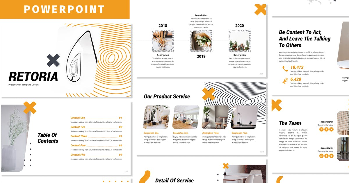 Download Retoria - Business Powerpoint Template by Blesstudio