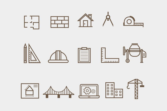 Thumbnail for 15 Architecture Icons