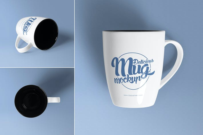 Thumbnail for 3 Awesome Coffee Mug Mockups