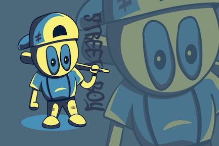 Street Boy - Kreative Illustration