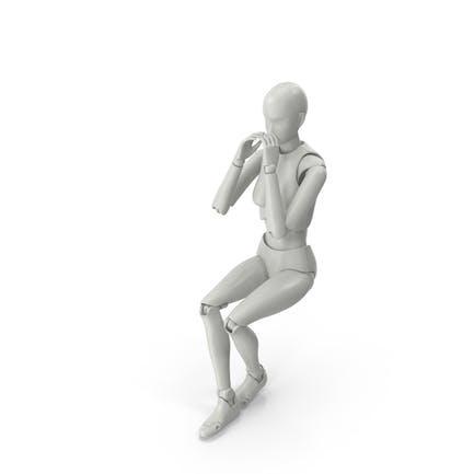 Posed Female Figure