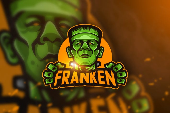 Thumbnail for Franken - Mascot & Esport Logo