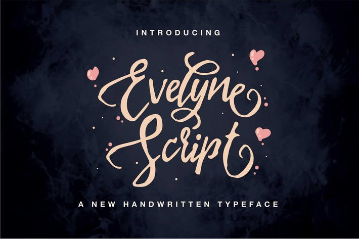 Cover Image For Evelyne Script