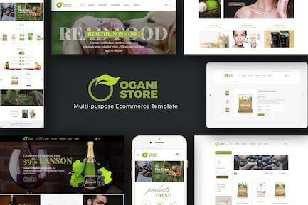 Ogani - Organico, Comida, Pet Opencart Tema