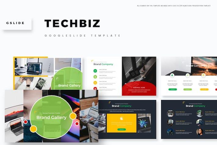 Thumbnail for Techbiz - Google Slides Template