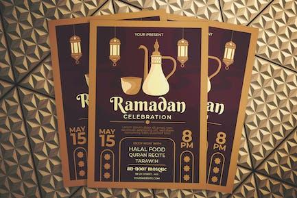 Ramadan TagesFlyer