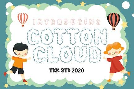 Cotton Cloud - Kids Cute Font