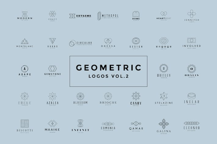 Thumbnail for Geometric Logos Vol.2