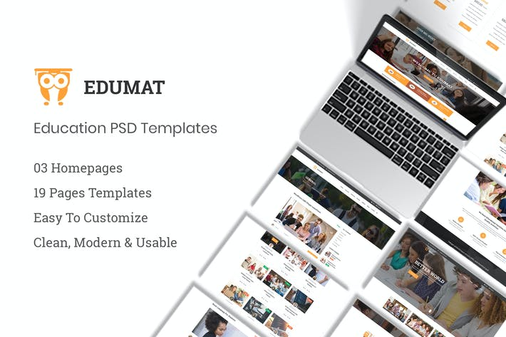 Thumbnail for Edumat | Education & Courses