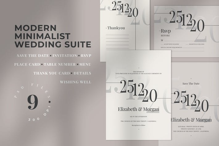 Thumbnail for Modern Minimalist Wedding Suite
