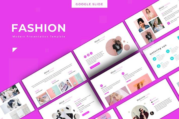Thumbnail for Fashion - Google Slides Template