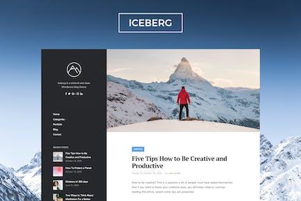 Iceberg - Clean & Modern WordPress Blog Theme