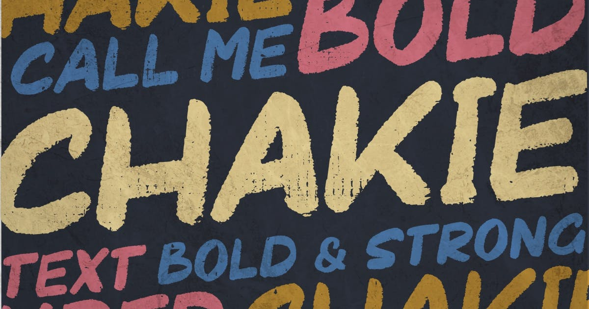Download Chakie   Headline Font by garisman