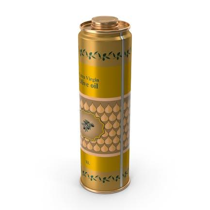 Lata de aceite de oliva, 1 litro