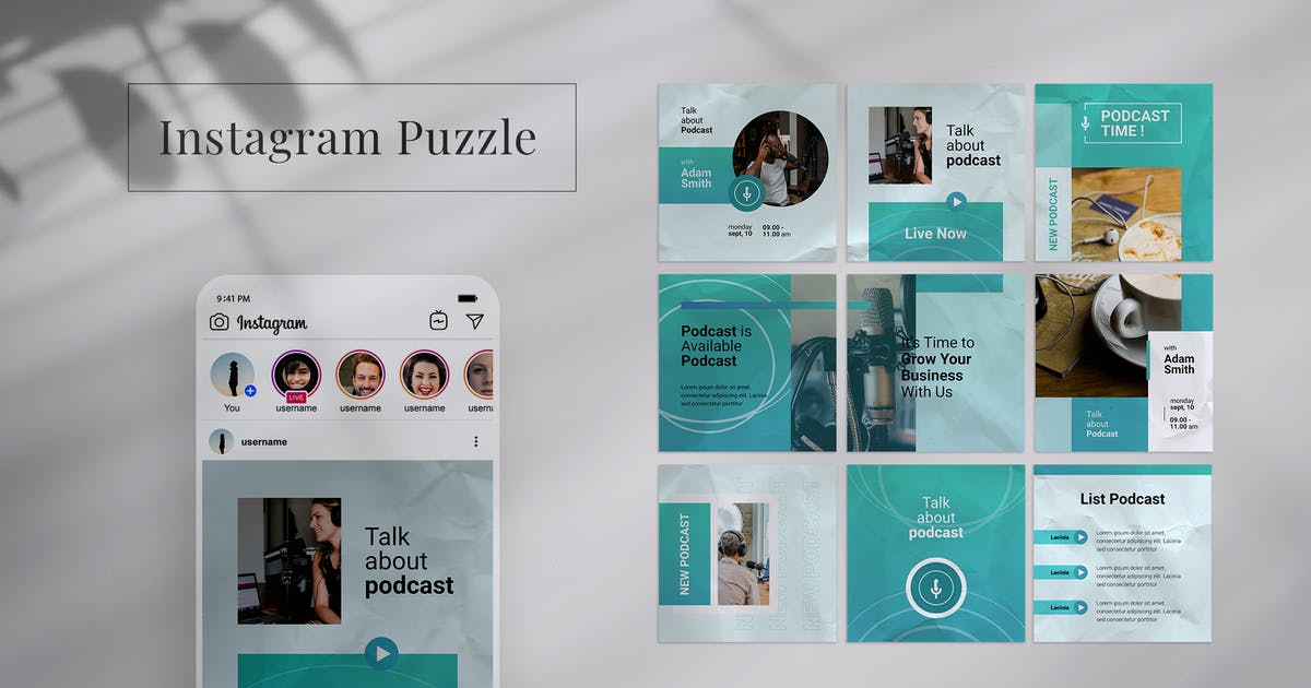 Download Instagram Puzzle by mursyiduchy