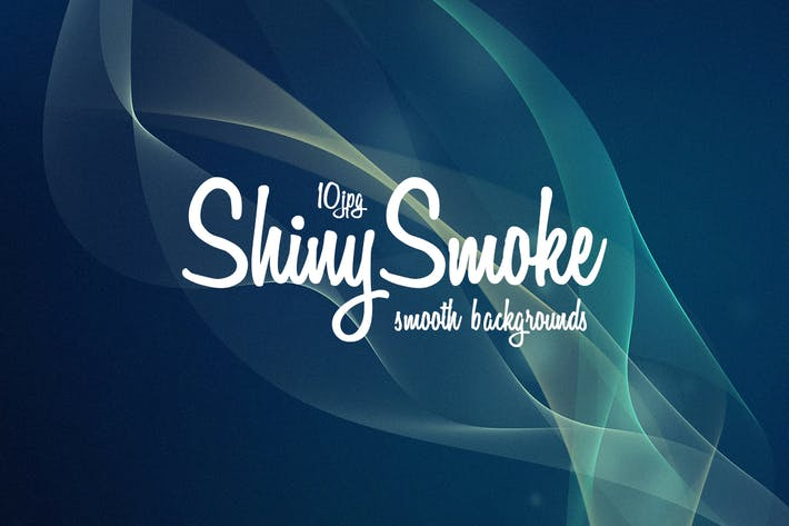 Thumbnail for Shiny Flow Smoke Backgrounds
