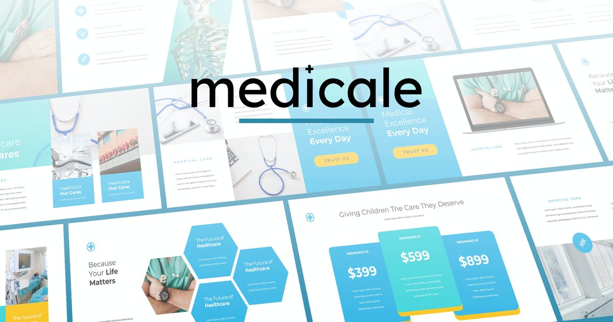 Download Medicale - Medical Powerpoint Template by Slidehack