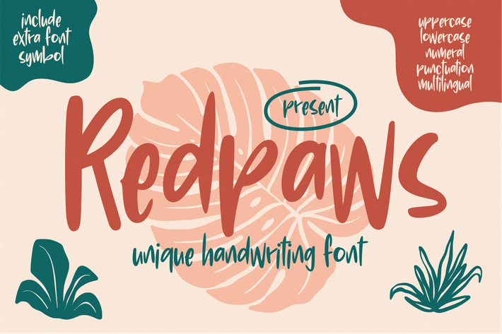 Redpaws Écriture